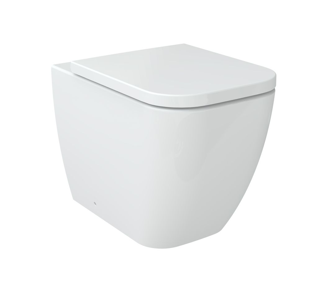 stand wc inkl soft close sitz btw 6023 glasdeals. Black Bedroom Furniture Sets. Home Design Ideas