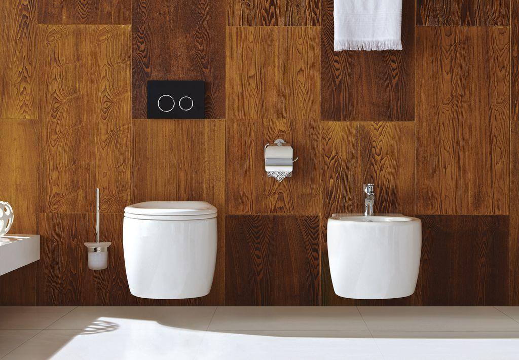 Komplettset Wand-WC WHR-6030 + Wand-Bidet WHB-6038 inkl. Soft-Close Sitz