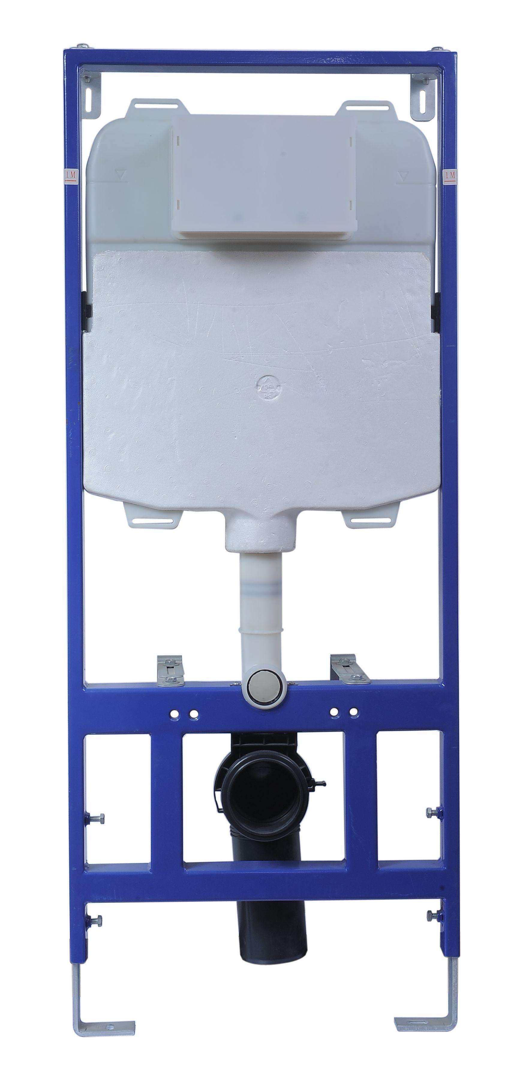 WC Vorwandelement VE-6241 ohne Betätigungsplatte