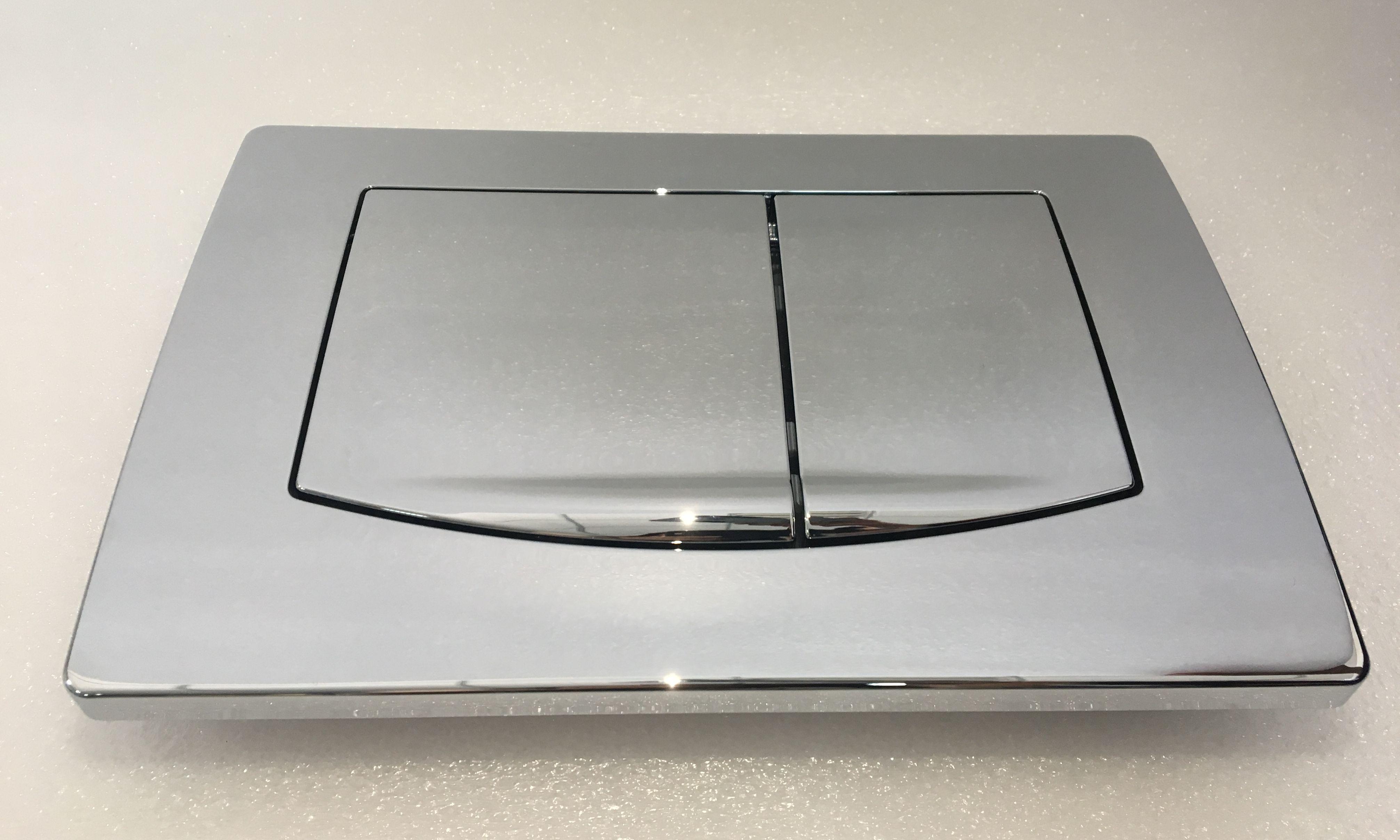 Chrom-Betätigungsplatte 6280 für Vorwandelement VE-6241