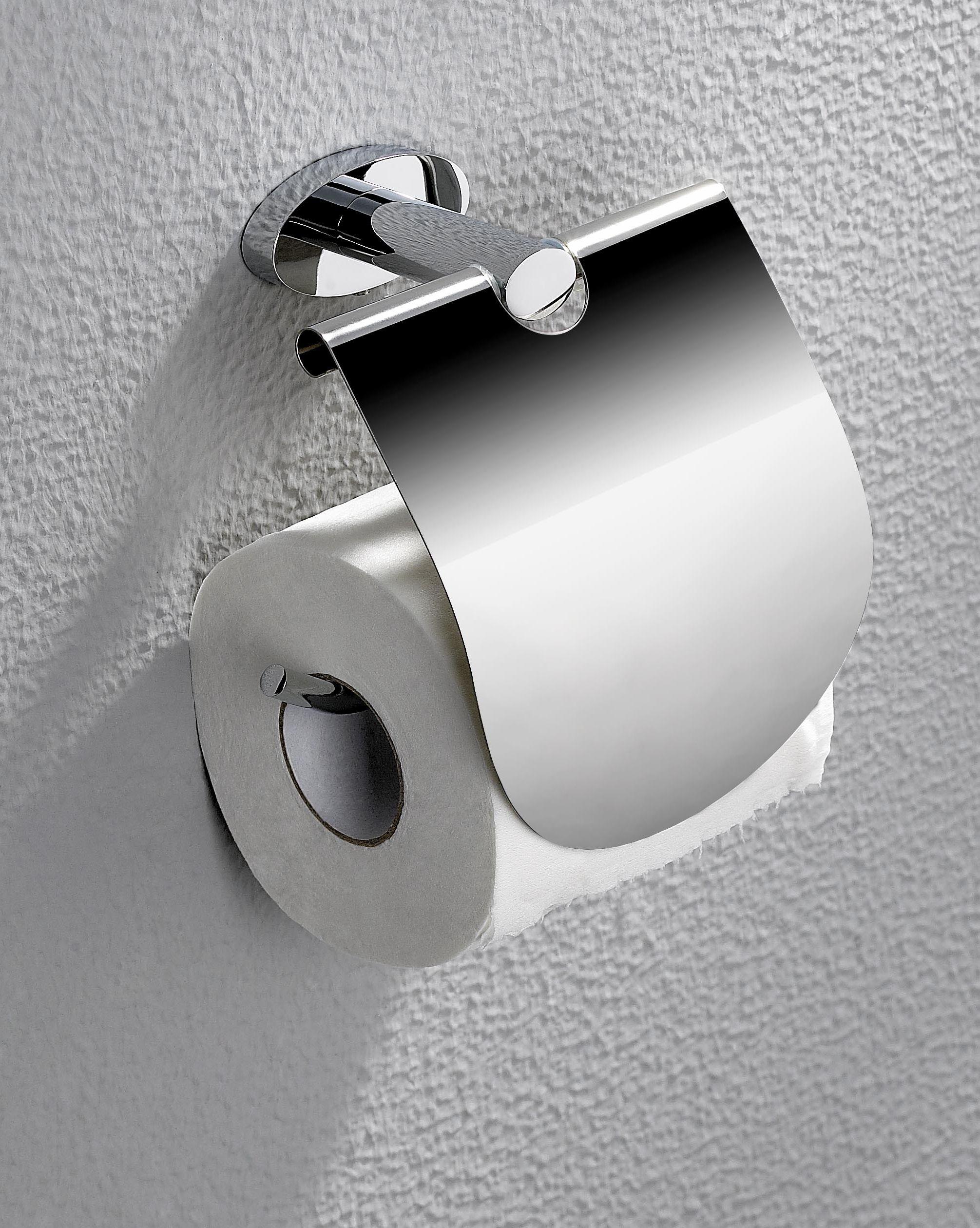 RONDOLUX Toilettenpapierhalter mit Deckel
