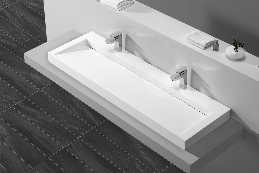 mineralguss aufsatzwaschtisch maw2343 160cm glasdeals. Black Bedroom Furniture Sets. Home Design Ideas