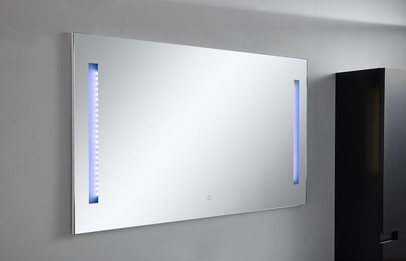 LED-Spiegel ALBA in schwarz