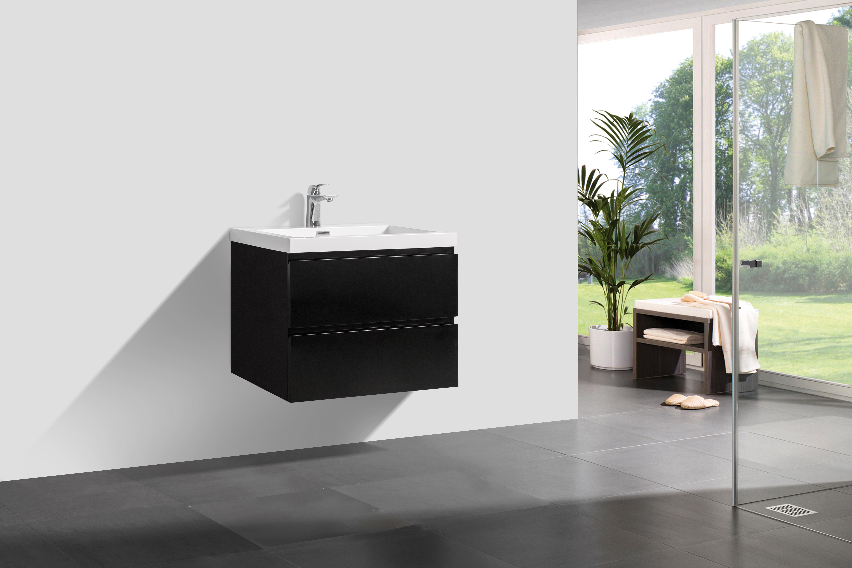badm bel unterschrank algo 80 hochglanz schwarz glasdeals. Black Bedroom Furniture Sets. Home Design Ideas
