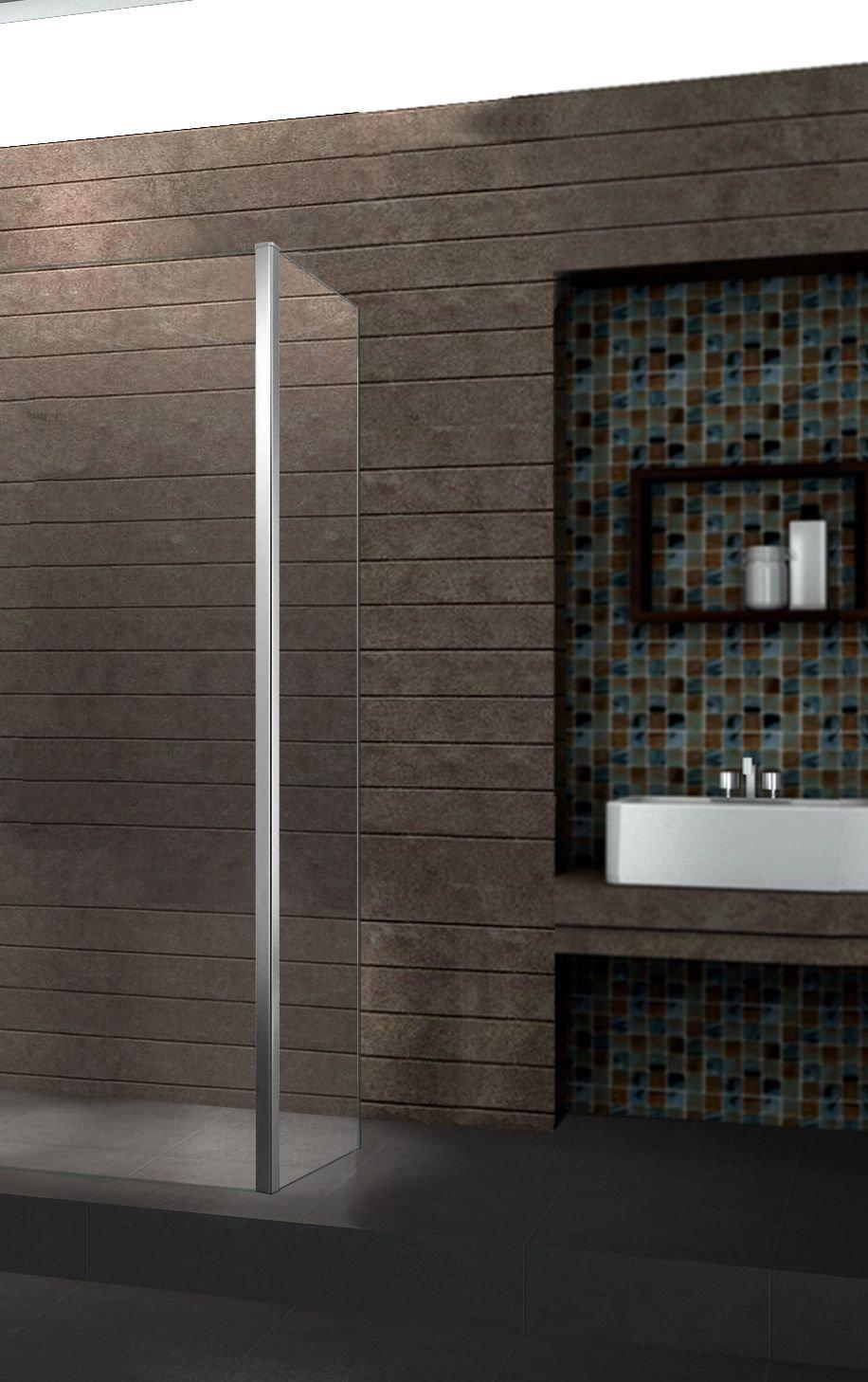 10 mm Anbau-Ecke für Duschwand AQUOS (40 cm)