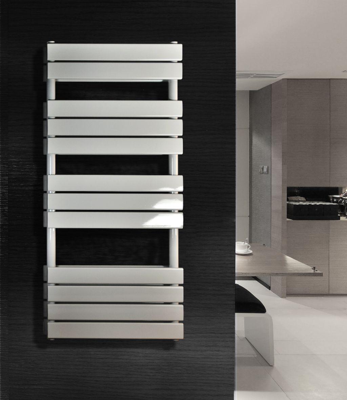 Badheizkörper BLOCK-S in 180 x 60 cm (Seitenanschluss, weiß)