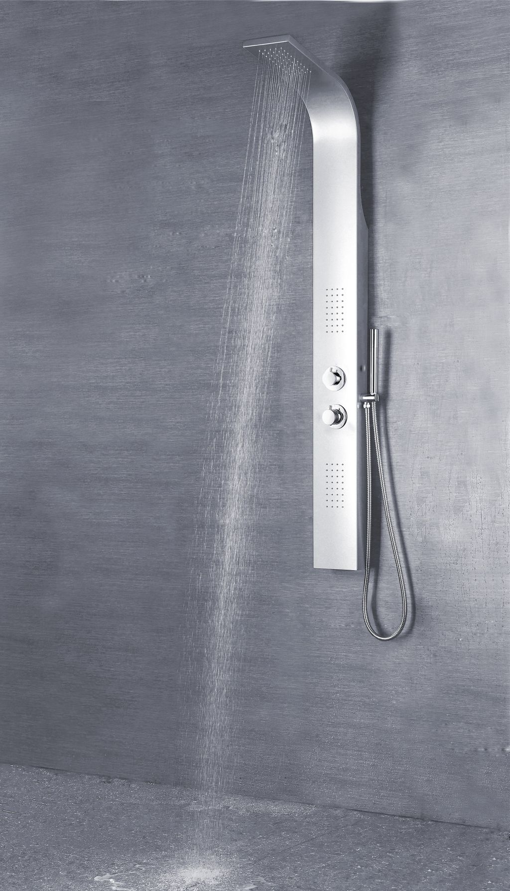 Duschpaneel BOCATO (silber)