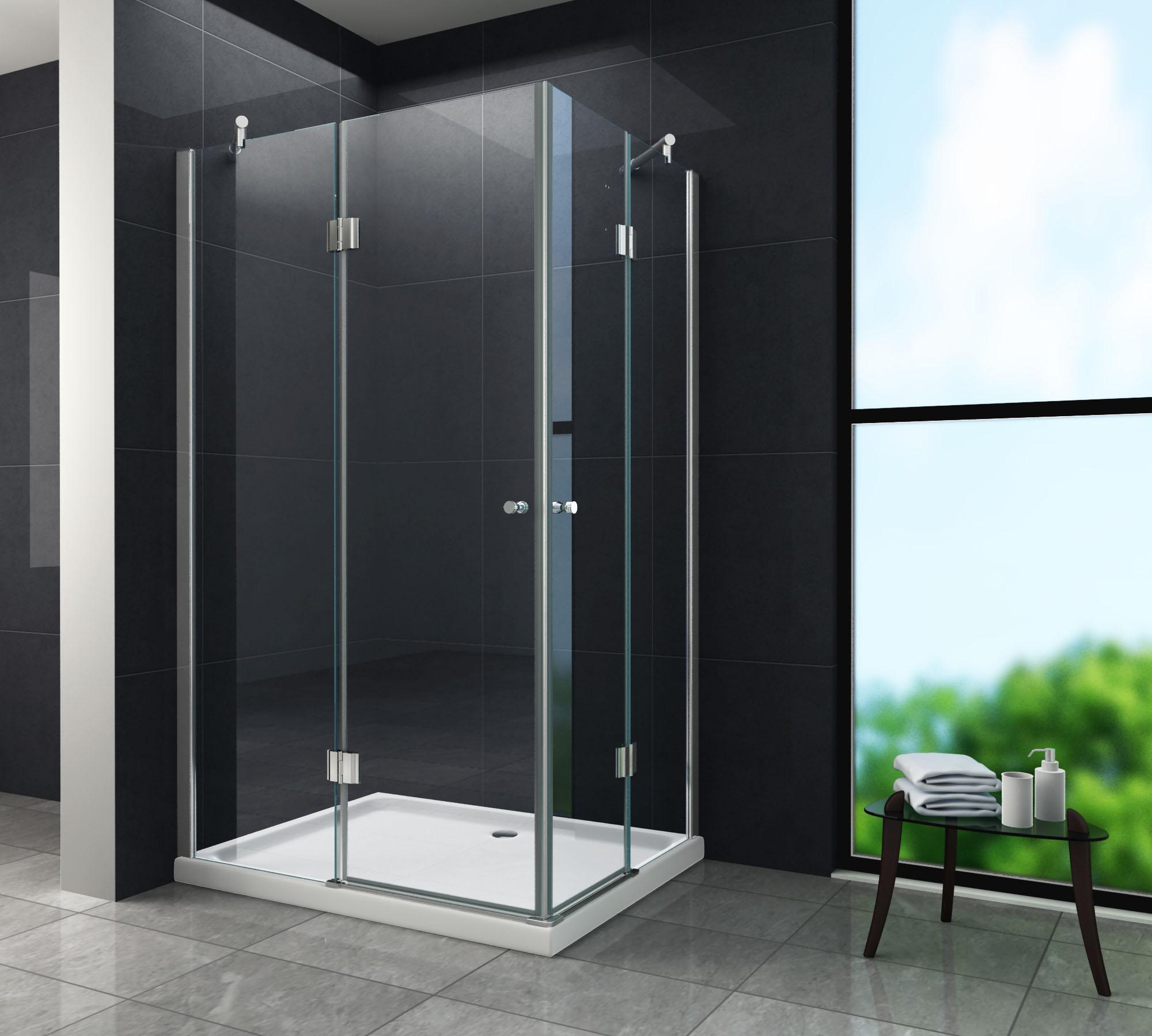 Bevorzugt Duschkabine CORNO 90 x 75 x 195 cm - Glasdeals FZ83