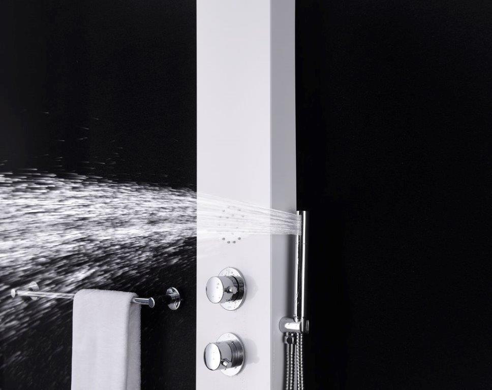 Duschpaneel DUENO (weiß)
