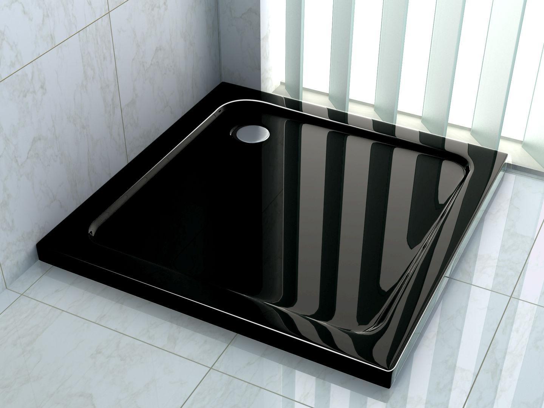 50 mm Duschtasse 100 x 100 cm (schwarz)