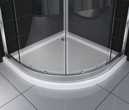 Duschkabine FRESH 90 x 90 x 195 cm Viertelkreis