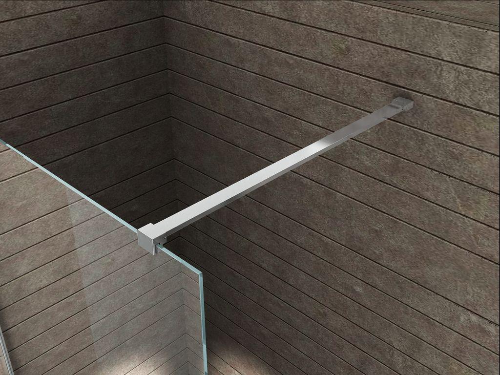 140 cm Designer-Haltestange für Duschwände