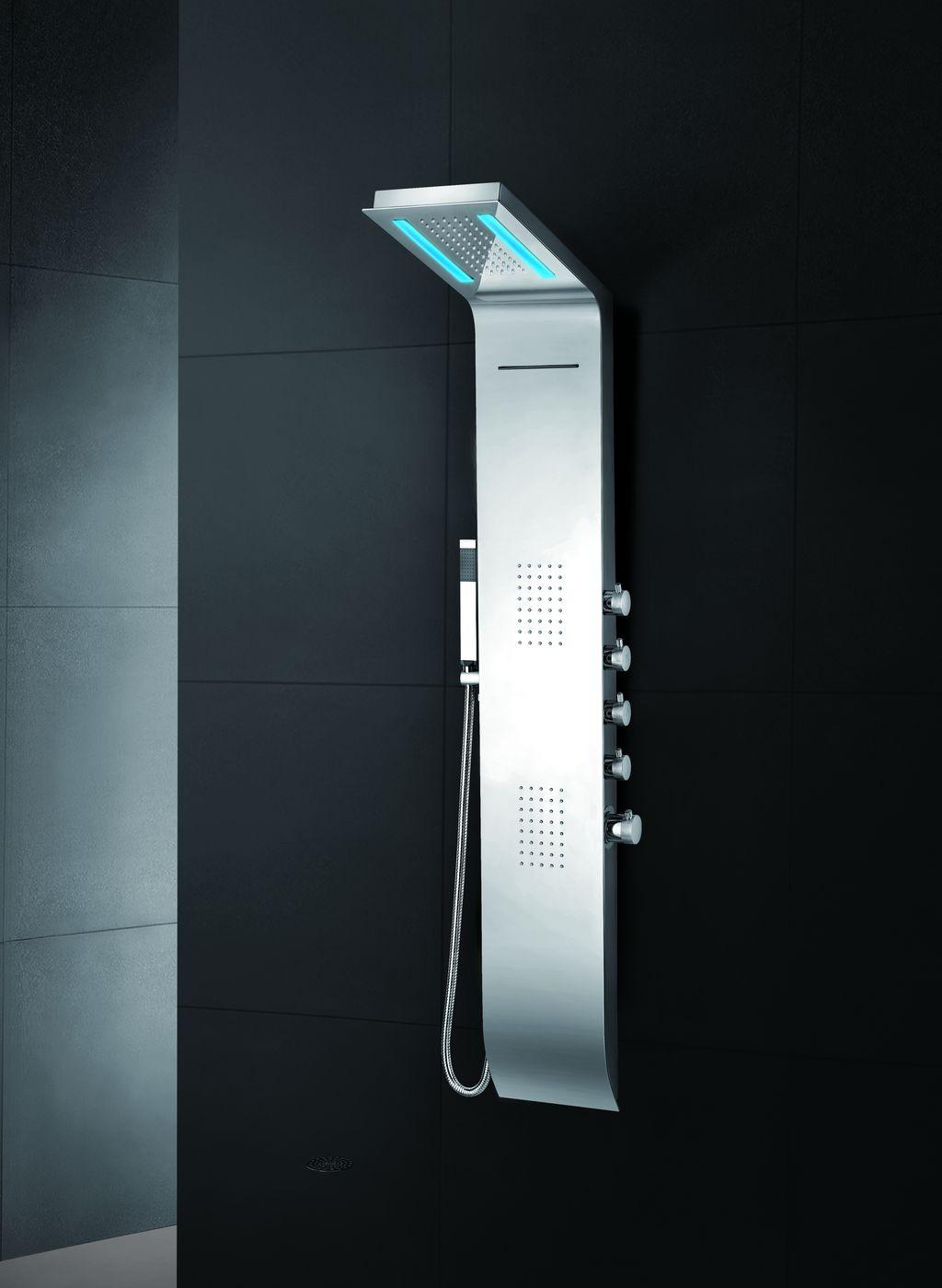 LED Designer Duschpaneel Luxo-LP085