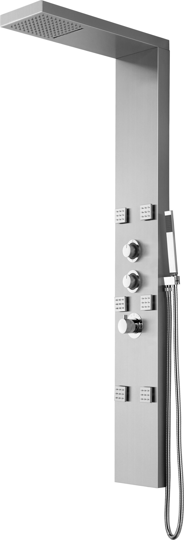 LED Designer Duschpaneel Luxo-LP089
