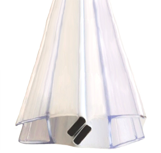 Magnetdichtung für Duschen- und Trennwände (185 cm)