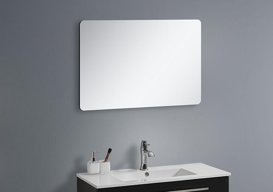 Badmöbel Spiegel OPORTO 60 (schwarz)