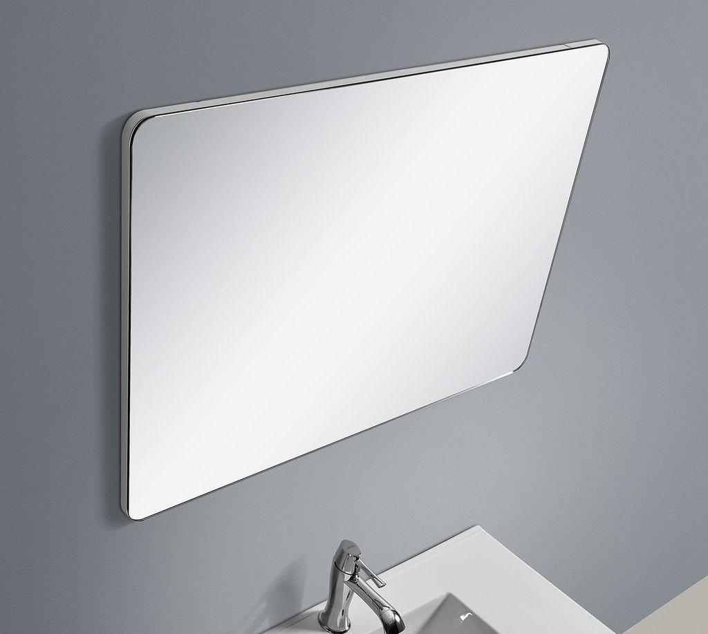 Badmöbel Spiegel OPORTO 90 (weiß)