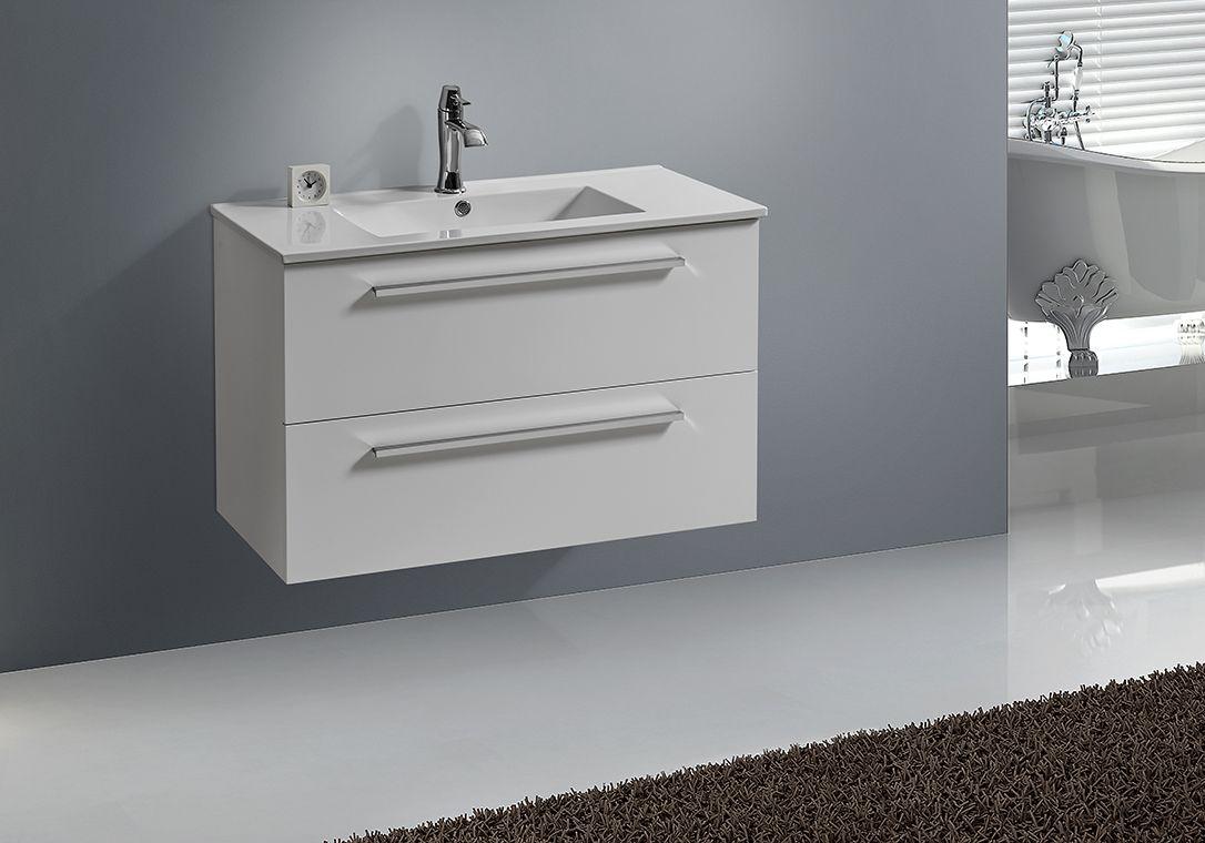 Badmöbel Unterschrank OPORTO 90 (weiß)