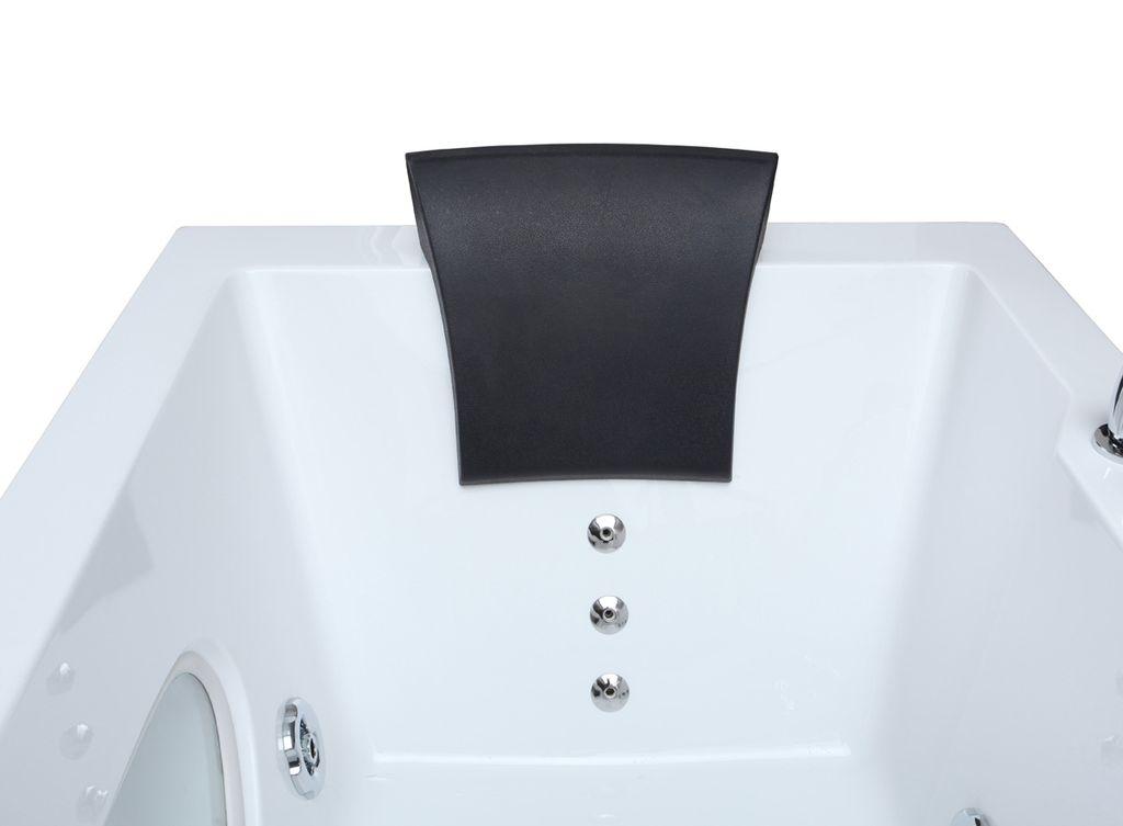 Whirlpool-Badewanne POSARO 180 x 90 cm