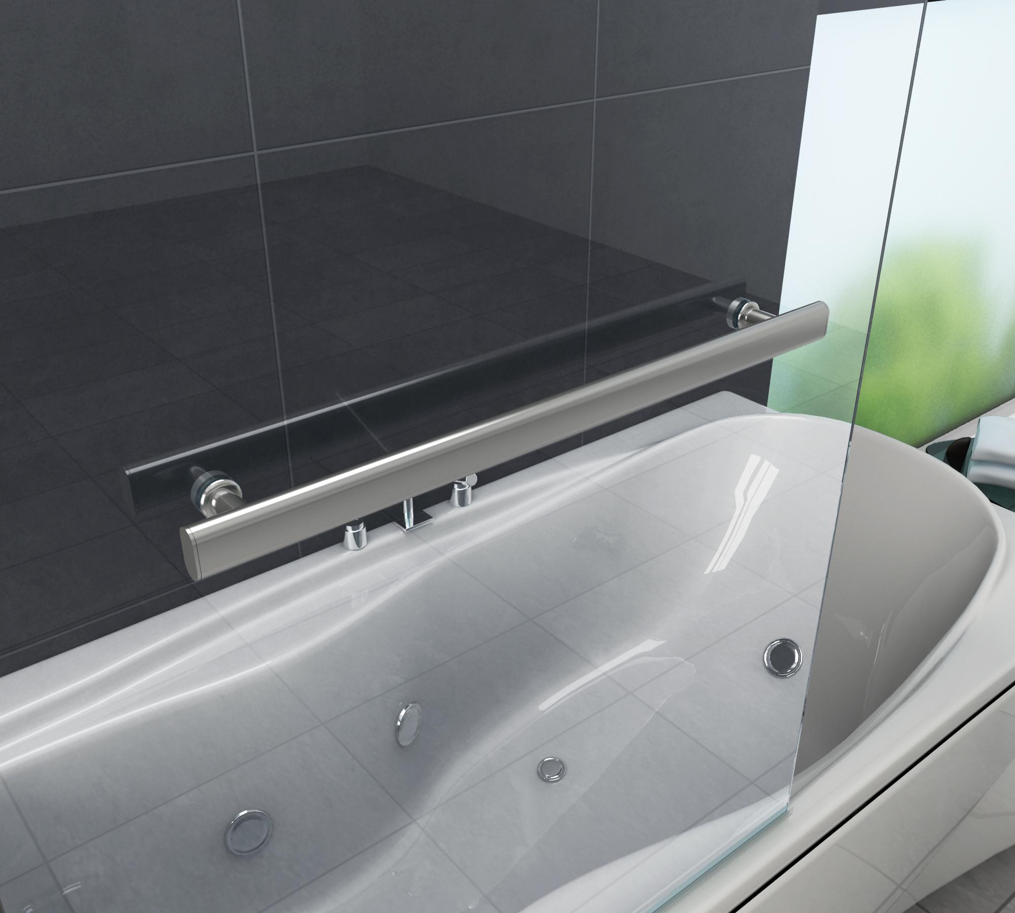 Duschtrennwand Quodo 80 X 140 Badewanne Glasdeals