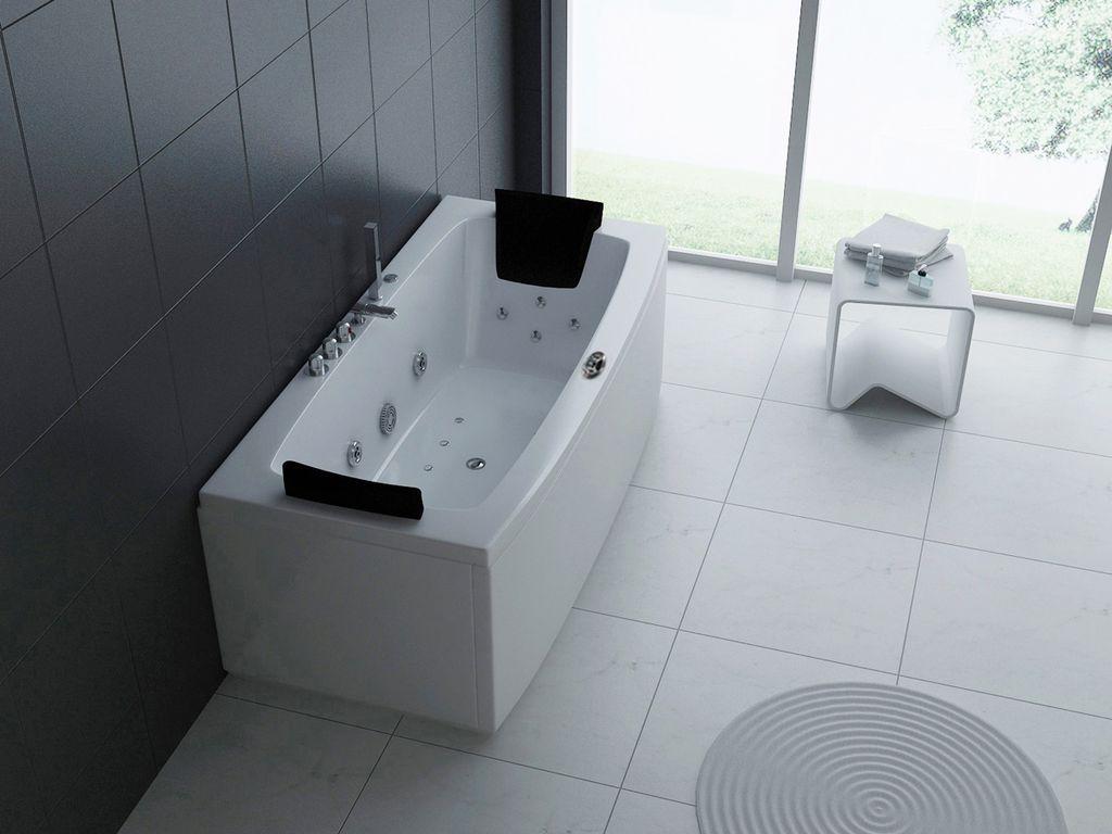 Whirlpool-Badewanne REPOSO 170 x 80 cm