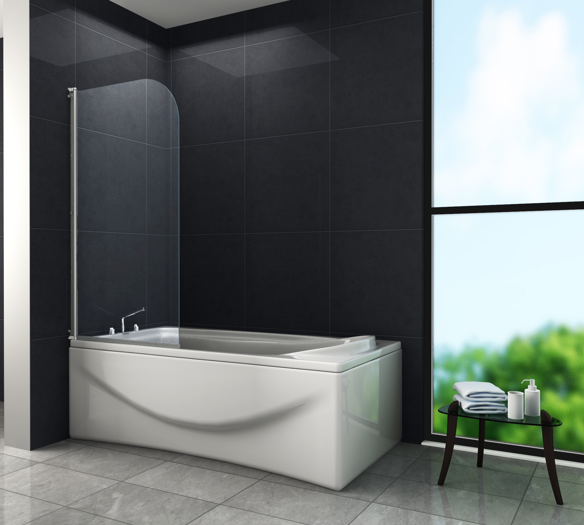 badewanne und dusche in einem artweger u duschen twinline. Black Bedroom Furniture Sets. Home Design Ideas