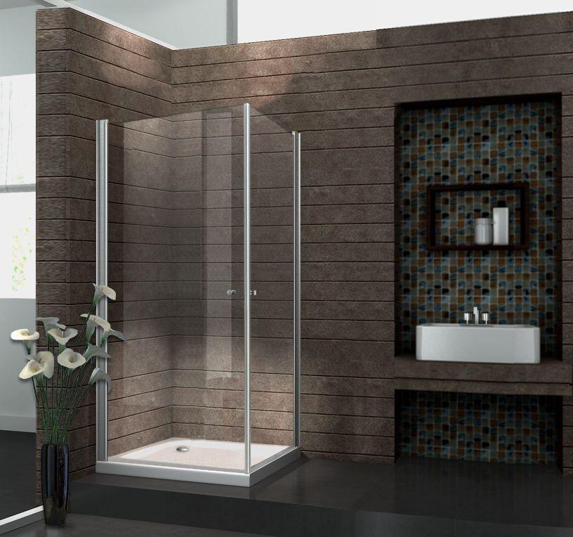 Duschkabine SPA 80 x 80 x 190 cm ohne Duschtasse