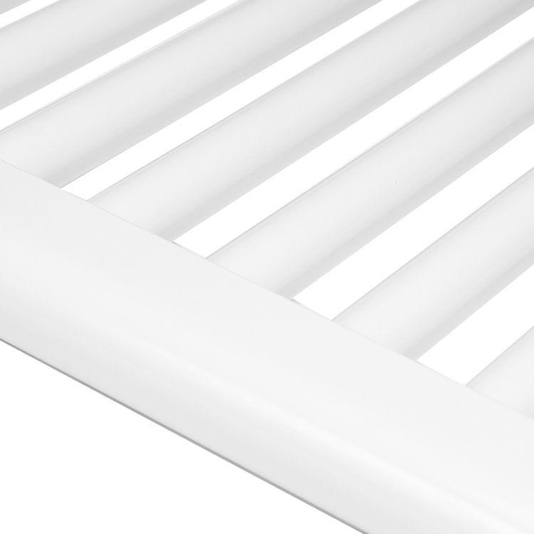 Badheizkörper STRAIGHT-M in 140 x 40 cm (Mittelanschluss, weiß ...