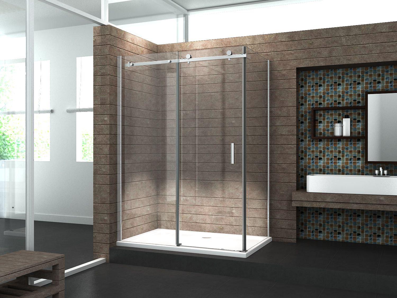 duschkabine tela 140 x 90 x 195 cm ohne duschtasse glasdeals. Black Bedroom Furniture Sets. Home Design Ideas
