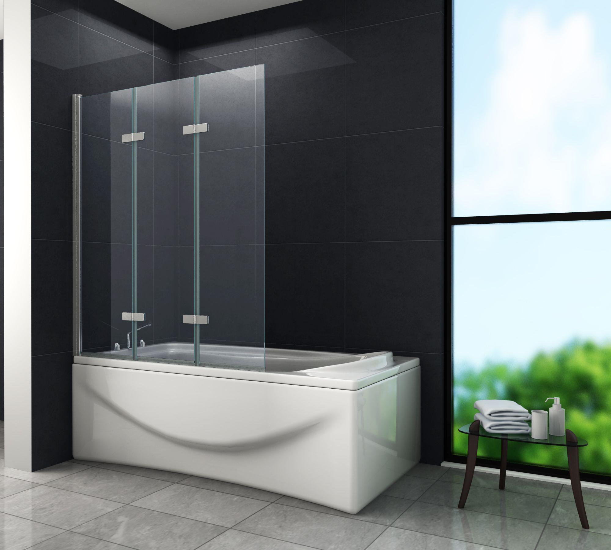 Duschtrennwand VALVE 130 x 140 (Badewanne)