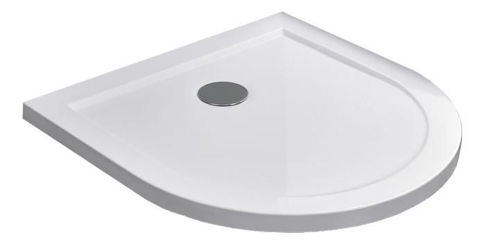 Duschtasse für U-Duschen 90 x 90