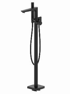 Badewannen-Standarmatur QUAD (matt-schwarz)