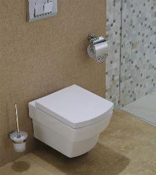 Wand-WC inkl. Soft-Close Sitz WH-6050