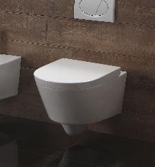 Wand-WC inkl. Soft-Close Sitz WH-6151