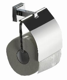 Toilettenpapierhalter ANGOLUX (mit Deckel)