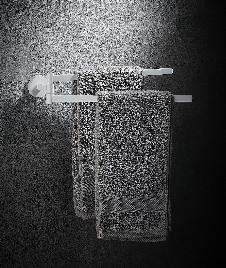 BLANCOLUX zweiarmiger Handtuchhalter