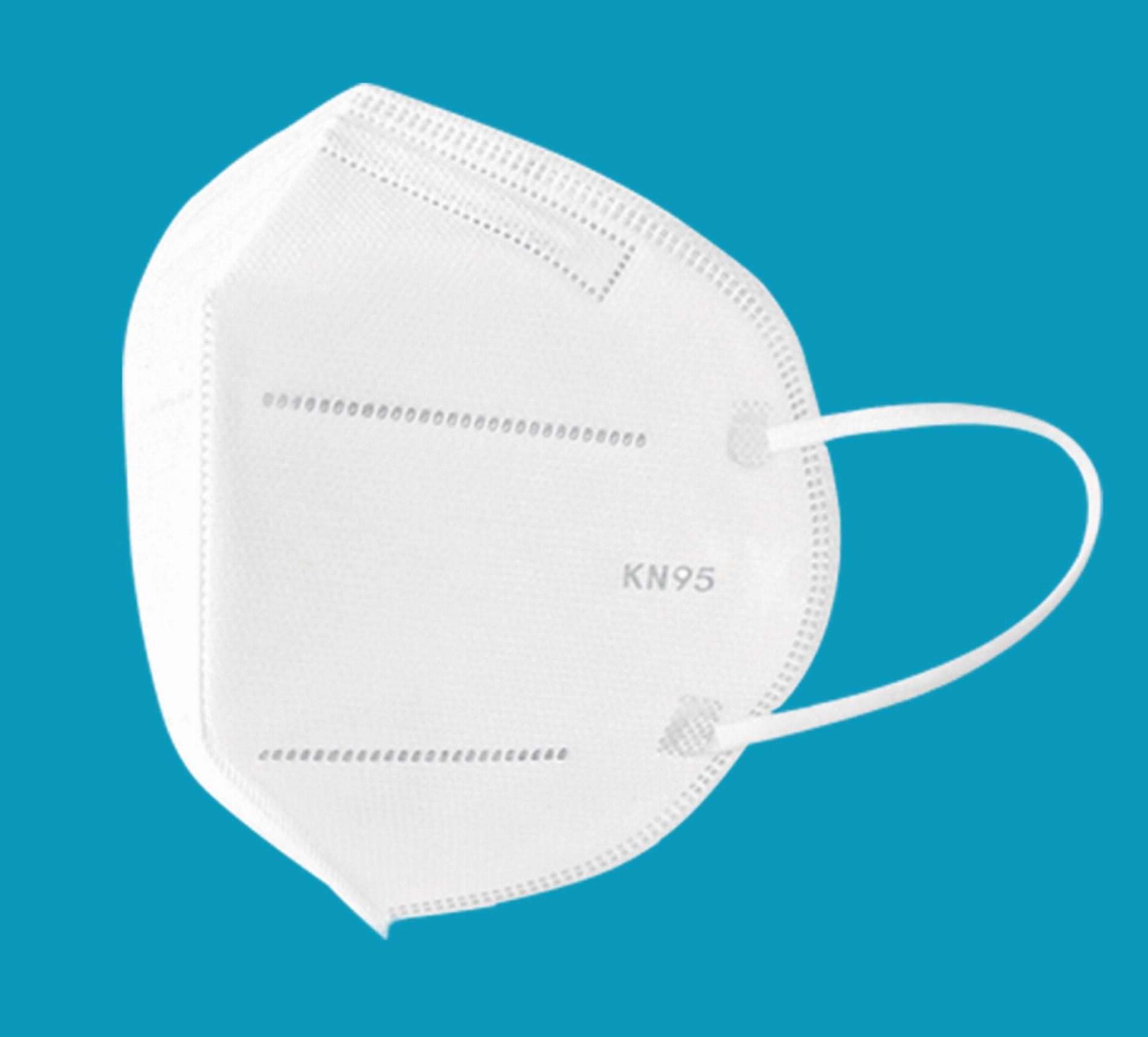 20 x KN95 Schutzmaske mit 4 Schichten (CE zertifiziert)