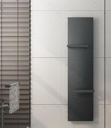 Badheizkörper LIANO in 180 x 45 cm (Mittelanschluss, grau)